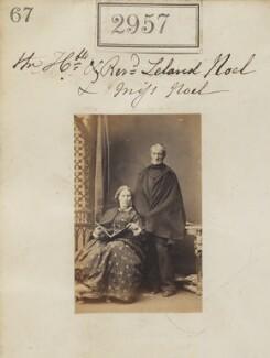 Hon. Leland Noel Noel; probably Emma Cecilia Noel, by Camille Silvy - NPG Ax52355