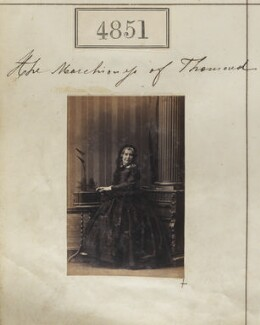 Anne (née Flint), Marchioness of Thomond, by Camille Silvy - NPG Ax54859