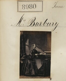 Probably Charlotte Amy May Burbury (née Kennedy), by Camille Silvy - NPG Ax58803