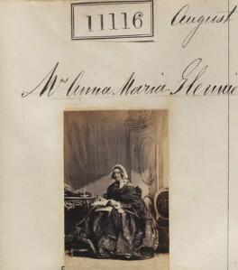 Anna Maria Glennie (née Woodyear), by Camille Silvy - NPG Ax60816
