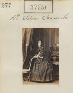 Hon. Selina Constance Smyth (née Somerville), by Camille Silvy - NPG Ax53180