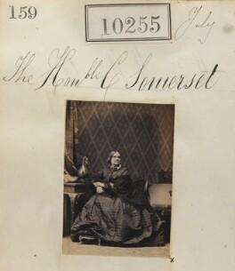 Hon. Charlotte Caroline Elizabeth Somerset, by Camille Silvy - NPG Ax59969