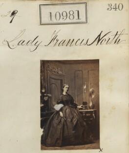 Lady Frances Bushby (née North), by Camille Silvy - NPG Ax60687