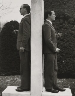 Gilbert & George, by Horst P. Horst - NPG x137756