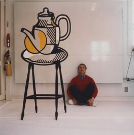 Roy Lichtenstein, by Horst P. Horst - NPG x137757