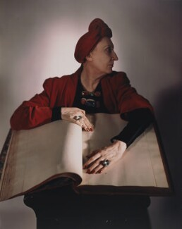 Edith Sitwell, by Horst P. Horst - NPG x137762