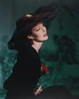 Loretta Young, by Horst P. Horst - NPG x137763