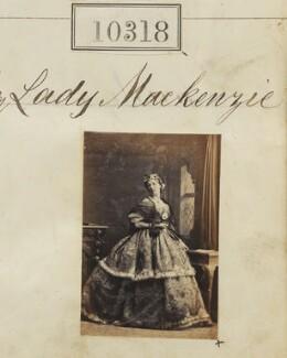 Agnes (née Smyth), Lady Mackenzie (later di San Felici), by Camille Silvy - NPG Ax60032