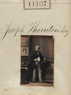 Joseph Thornton, by Camille Silvy - NPG Ax60807