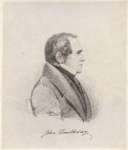 John Doubleday, by Henry Corbould - NPG D42935