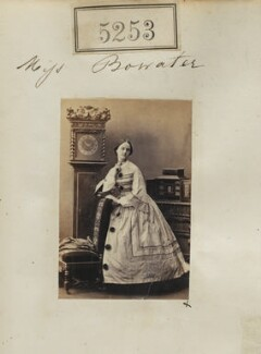 Louisa Mary (née Bowater), Lady Knightley, by Camille Silvy - NPG Ax137764