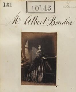 Ellen Letitia Boudier (née Bruce), by Camille Silvy - NPG Ax59858