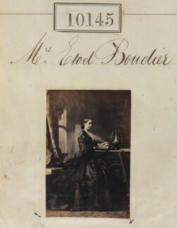 Emily Maria Boudier (née Waller), by Camille Silvy - NPG Ax59860