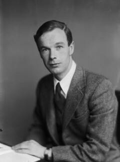 Sir Alan Lloyd Hodgkin, by Walter Stoneman - NPG x189314