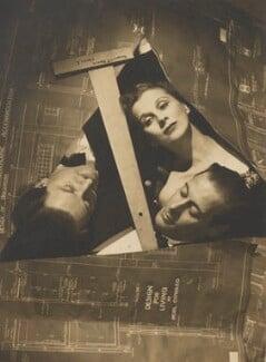 Anton Walbrook; Diana Wynyard; Rex Harrison, by Angus McBean - NPG Ax183854