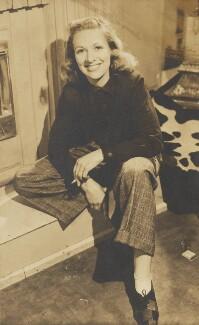 Diana Churchill, by Angus McBean - NPG Ax183856
