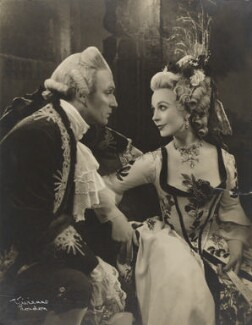 Vivien Leigh and Laurence Olivier in 'School for Scandal', by Vivienne - NPG x137764