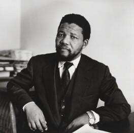 Nelson Mandela, by Michael Peto - NPG x137674