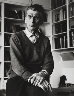 Samuel Beckett, by Michael Peto - NPG x137676