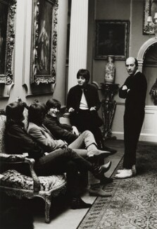 The Beatles with Richard Lester, by Michael Peto - NPG x137678