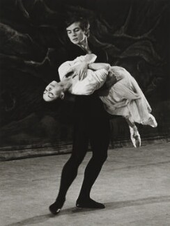 Rudolf Nureyev and Margot Fonteyn, by Michael Peto - NPG x137680