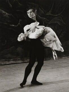 Rudolf Nureyev and Margot Fonteyn, by Michael Peto - NPG x137680