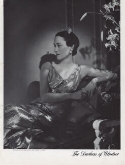 Wallis, Duchess of Windsor, by Horst P. Horst - NPG x137774