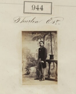 Edward Hovell Thurlow, by Camille Silvy - NPG Ax50514