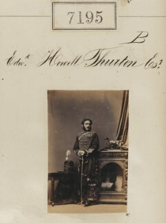 Edward Hovell Thurlow, by Camille Silvy - NPG Ax57111