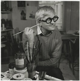 David Hockney, by Francis Goodman, 9 February 1970 - NPG  - © National Portrait Gallery, London