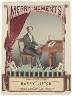 Harry Liston, by Home & Co, published by  M. Gunn & Sons, and published by  Hutchings & Romer, after  M. Allen & Co - NPG D42788