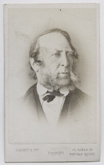 George Cruikshank, by Elliott & Fry - NPG Ax39831