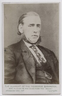 'The Claimant of the Tichborne Baronetcy' (Arthur Orton), by London Stereoscopic & Photographic Company, after  Unknown artist - NPG Ax39931