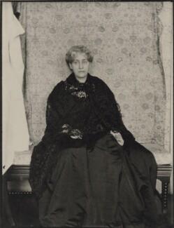 Jane Morris (née Burden), by Sir Emery Walker - NPG x137778