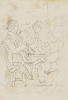 Four unknown sitters, by Sebastian Evans - NPG 2173(23)