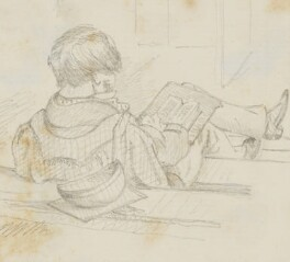 Unknown sitter, by Sebastian Evans - NPG 2173(24)