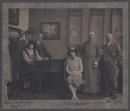 Group including Dame Clara Ellen Butt, Robert Henry Kennerley Rumford, Ben Davies, by Olive Edis - NPG x137799