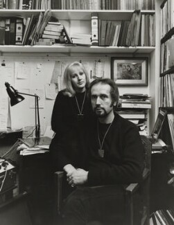Mike Raven and Mandy Raven, by Brian Shuel - NPG x137806