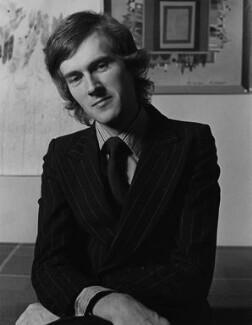 Russell Ash, by Brian Shuel, 1975 - NPG x137811 - © Brian Shuel / National Portrait Gallery, London