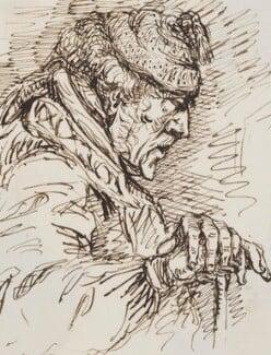 Unknown sitter, by Sebastian Evans - NPG 2173(41)