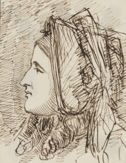 Unknown woman, by Sebastian Evans - NPG 2173(42)