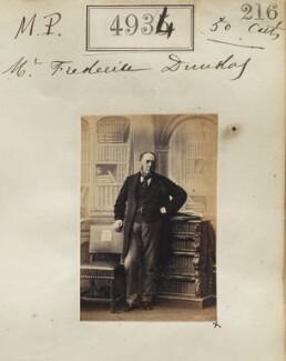 Frederic Dundas, by Camille Silvy - NPG Ax54942