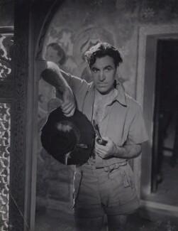 David Farrar as Mr. Dean in 'Black Narcissus', by Fred Daniels - NPG x137782