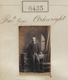 George Arkwright, by Camille Silvy - NPG Ax56369