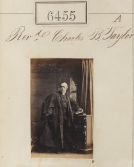 Charles Benjamin Tayler, by Camille Silvy, 14 November 1861 - NPG Ax56389 - © National Portrait Gallery, London