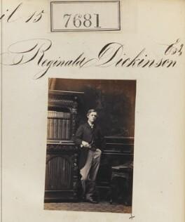 Reginald Dickinson, by Camille Silvy - NPG Ax57520