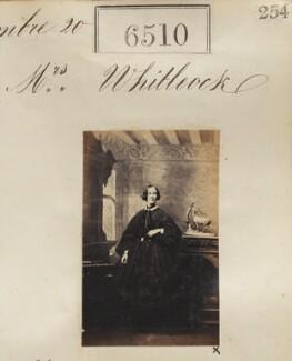 Emily Whitelock (née Briggs), by Camille Silvy - NPG Ax56443