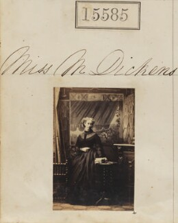 Mamie Dickens, by Camille Silvy - NPG Ax63517