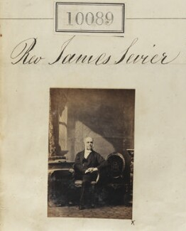 James Sevier, by Camille Silvy - NPG Ax59803