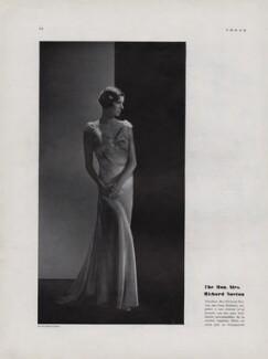 Jean Mary (née Kinloch), Lady Grantley, by Baron George Hoyningen-Huene - NPG x137793